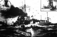 Amerika legujabb tipusú hadiflottája a nyílt tengeren