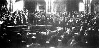 Az Esterházy-kormány bemutatkozása a parlamentben