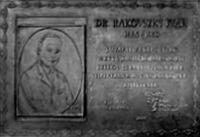 Rakovszky Iván emléktáblája