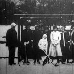 A BKE hölgyjéghockey-csapata Minden Frigyes kapitánnyal