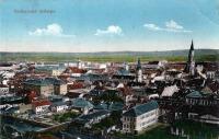Kolozsvár látképe 1917-ből