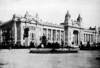 A budapesti Tőzsde palotája