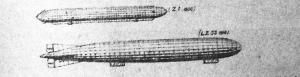 1900. évi és 1916. évi Zeppelinek