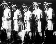 Egy amerikai táncosnő csoport