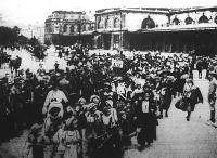 Az Abbáziából hazatérő gyermekek
