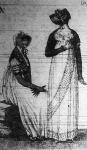 A női divat I. Napoleon császársága idején