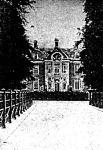Middachten kastély Hollandiában, ahol II.Vilmos jelenleg tartózkodik