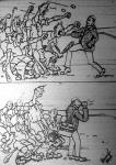 Korszerű bíráskodás (Wiesner Frigyes rajza)
