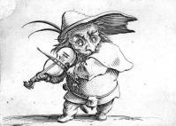 Callot: Burlesque - a hegedűs