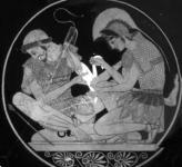 Akhilleusz és Patroklosz