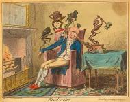 Fejfájás - angol karikatúra