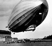 A Zeppelin.