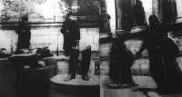 A milleniumi emlékmű leszerelt Habsburg szobrai
