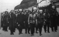 Budapesten élő oroszok a Vörös Hadseregben