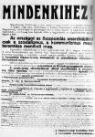 Mindenkihez, a Tanácsköztársaság első dokumentuma