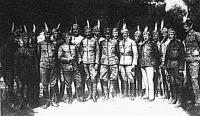 A Szegeden alakult fehér gárda lekiválóbb csoportja Siófokon