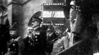 Horthy az Országház előtt. 1919. november 16.