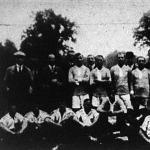 Az MTK és a FC. Nünberg játékosai