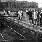 Az 1500 m-es síkfutás finishe Benedek 8 m-rel veri Némethyt