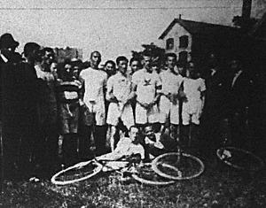 A gyalogló bajnokság résztvevői