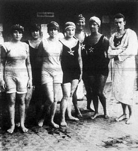 A MUE versenyén résztvett hölgyek Vermes-Sellő-Reichner-Kóbor-Dobis-Schmieder