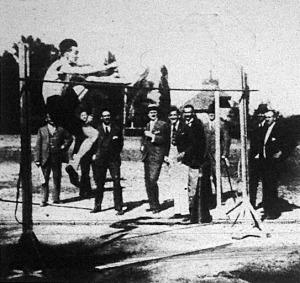 Gáspár Jenő ugrása 188 cm