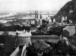 Budapesti panoráma a várból