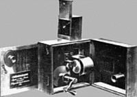 Filmfelvevö kamera az 1910-es években