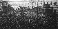 A Területvédő Liga tüntetése Miskolcon a készülő szerződés ellen