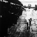 Az MTK ifjusági mezeiversenyének győztese Trampits Ernő (FTC)