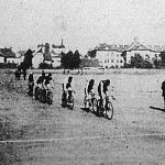 Pillanatfelvétel a kerékpárversenyről