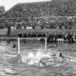 Vízipólómérkőzés az olimpián