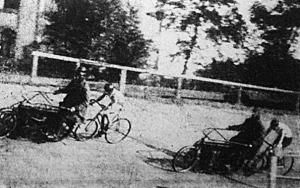 Motorvezetéses kerékpárverseny