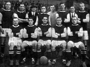 Az Aston Villa csapat 1920-ban