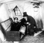 Jelenet a Doctor Caligari című filmből