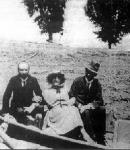 Tanner Ilona Juhász Gyulával és férjével, Babits Mihállyal