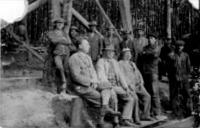 Talán az egyik legrégebben készült kép a bányászokról