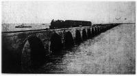 Amerikában két szomszédos szigetet köt össze ez a vasúti híd