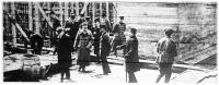 József főherceg a budapesti kereskedelmi kikötő építésénél
