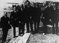 Portoroseban (Olaszország) az Osztrák-Magyar Monarchia utódállamai értekezletre gyűltek egybe,