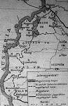 Nyugat-Magyarország térképe egy korabeli lapban
