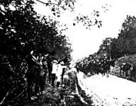 Képek a felszabadult Baranyából. Az előcsapat megérkezése a demarkációs vonalhoz az Árpádtetőn