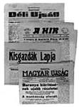 Pécsi újságok a szerb megszállás időszakából