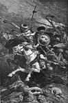 De Neuville: Hunok a catalaunumi csatában