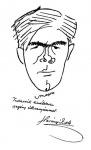 Karikatura Harsányi Zsoltról