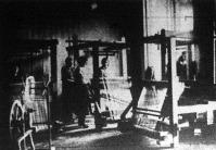 Horthy Miklósné a budai királyi palotában szövőtanfolyamot szervezett