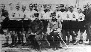 A debreceni katonai körlet footballcsapata