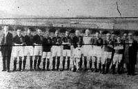 A magyar válogatott csapat