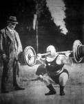 Mörke Károly súlyemelő, a világ egyik legerősebb embere