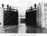 A Ferenc-csatorna zsilipkapuja